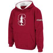 Stanford Cardinal Stadium Athletic Youth Big Logo Pullover Hoodie - Cardinal