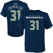 Kam Chancellor Seattle Seahawks Youth Primary Gear Name & Number T-Shirt - College Navy
