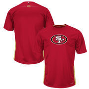 San Francisco 49ers Majestic To The Limits Synthetic Cool Base T-Shirt - Cardinal