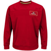 San Francisco 49ers Majestic Against the Odds Synthetic Pullover Therma Base Sweatshirt - Scarlet