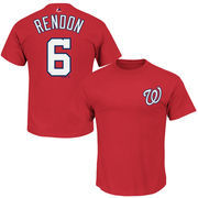 Anthony Rendon Washington Nationals Majestic Official Name and Number T-Shirt - Red