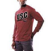 South Carolina Gamecocks Majestic Points Earned Long Sleeve T-Shirt - Garnet