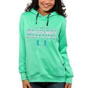 Miami Hurricanes Women's Sport Fleece Hoodie - Mint Green