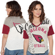 Arizona Cardinals Touch by Alyssa Milano Women's Touch Power Play T-Shirt - White