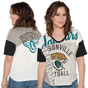 Jacksonville Jaguars Touch by Alyssa Milano Women's Touch Power Play T-Shirt - White