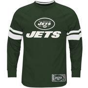 New York Jets Majestic Big & Tall Power Hit Long Sleeve T-Shirt - Green