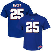 LeSean McCoy Buffalo Bills Majestic Big & Tall Eligible Receiver Name and Number T-Shirt - Royal