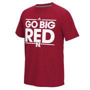 Nebraska Cornhuskers adidas Dassler Local Ultimate T-Shirt - Scarlet
