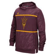 Arizona State Sun Devils adidas Sideline Shock Energy Climalite Performance Hoodie - Maroon