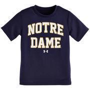 Notre Dame Fighting Irish Youth Workmark Nu Tech T-Shirt - Navy  -