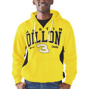 Austin Dillon G-III Sports by Carl Banks Body Work Pull Over Fleece Hoodie - Yellow