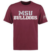 Mississippi State Bulldogs Liberty T-Shirt - Maroon