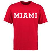 Miami University RedHawks Mallory T-Shirt - Red