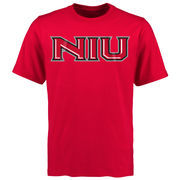 Northern Illinois Huskies Mallory T-Shirt - Cardinal