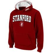 Stanford Cardinal Stadium Athletic Arch & Logo Pullover Hoodie - Cardinal