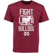 Mississippi State Bulldogs Institution T-Shirt - Maroon