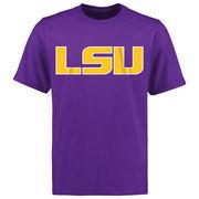 LSU Tigers Big & Tall Mallory T-Shirt - Purple