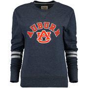 Auburn Tigers Alta Gracia (Fair Trade) Women's Relaxed Fit Rosaura Pullover Fleece Sweatshirt - Navy