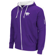 Kansas State Wildcats Colosseum Cold Snap Full-Zip Hoodie - Purple