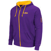 LSU Tigers Colosseum Cold Snap Full-Zip Hoodie - Purple