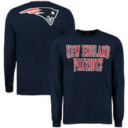 New England Patriots No Huddle Long Sleeve T-Shirt - Navy