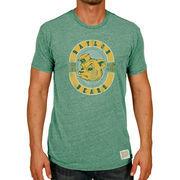 Baylor Bears Original Retro Brand Vintage Logo Tri-Blend T-Shirt - Heather Green