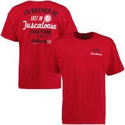 Alabama Crimson Tide Lost Found T-Shirt - Crimson