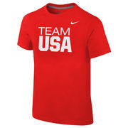 Team USA Nike Youth Core T-Shirt - Red