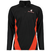 Kevin Harvick Quarter-Zip Layering Long Sleeve T-Shirt - Black