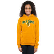 San Francisco Dons Women's Proud Mascot Pullover Hoodie - Gold