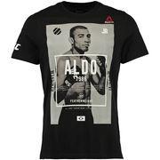 Jose Aldo UFC Reebok Fighter Character T-Shirt - Black