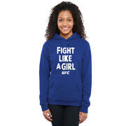 UFC Women's Fight Like A Girl 2015 Pullover Hoodie - Royal