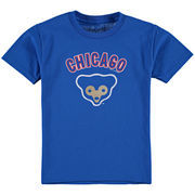 Chicago Cubs Soft as a Grape Youth Cooperstown T-Shirt - Royal