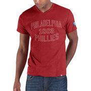 Philadelphia Phillies '47 Match Play V-Neck T-Shirt - Red