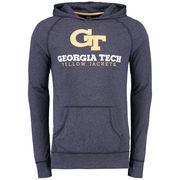 Georgia Tech Yellow Jackets Varsity Play Pullover Hoodie - Navy
