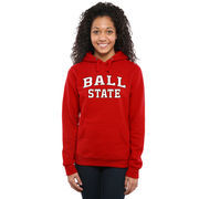 Ball State Cardinals Women's Everyday Pullover Hoodie - Red