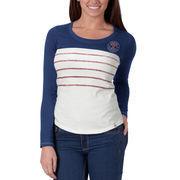 Texas Rangers '47 Women's Breakers Long Sleeve T-Shirt - Royal