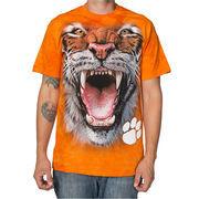 Clemson Tigers Operation Hat Trick Big Face T-Shirt - Orange