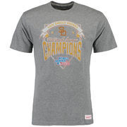 San Diego Padres Mitchell & Ness Team Record Tailored T-Shirt - Gray