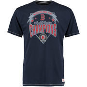 Boston Red Sox Mitchell & Ness Team Record Tailored T-Shirt - Navy