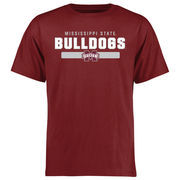 Mississippi State Bulldogs Team Strong T-Shirt - Maroon