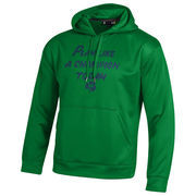 Notre Dame Fighting Irish Under Armour Play Like a Champion Armour Fleece 2.0 Pullover Hoodie - Green