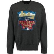 Minnesota Twins Majestic Threads All-Star Game Tri-Blend Pullover Sweatshirt - Gray