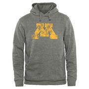 Minnesota Golden Gophers Classic Primary Logo Pullover Hoodie Sweatshirt - Heather Grey