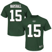 Brandon Marshall New York Jets Majestic Big & Tall Eligible Receiver Name and Number T-Shirt - Green