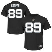 Amari Cooper Oakland Raiders Majestic Big & Tall Eligible Receiver Name and Number T-Shirt - Black