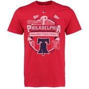 Philadelphia Phillies Majestic It Matters T-Shirt - Red