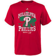 Philadelphia Phillies Majestic Youth Great Luck T-Shirt - Red
