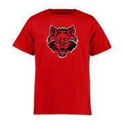 Arkansas State Red Wolves Youth Classic Primary T-Shirt - Red