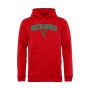 Mississippi Valley State Delta Devils Youth Proud Mascot Pullover Hoodie - Red